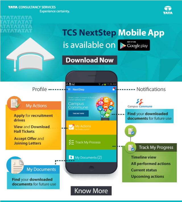 TCS NextStep Android App